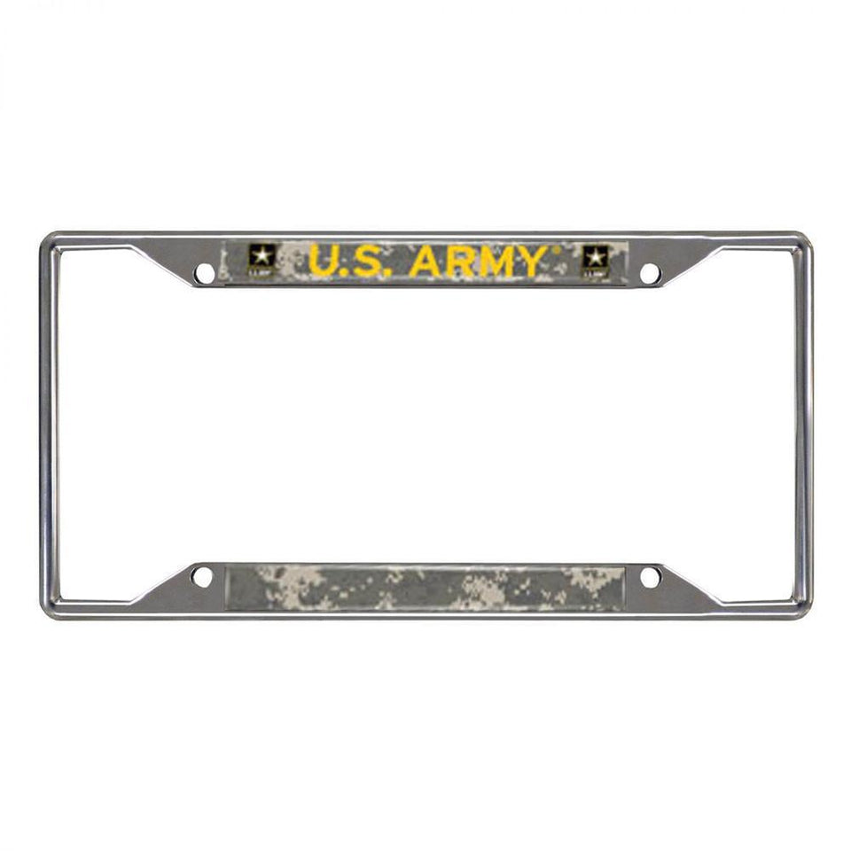 US Army License Plate Camo Frame-Military Republic