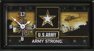US Army License Plate Clock