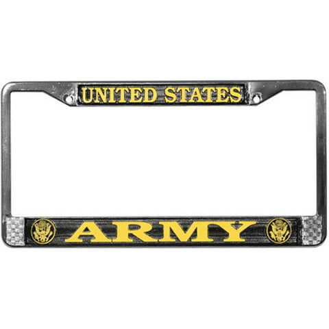 US Army License Plate Frame