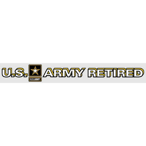 US Army Retired 14 x 1.75