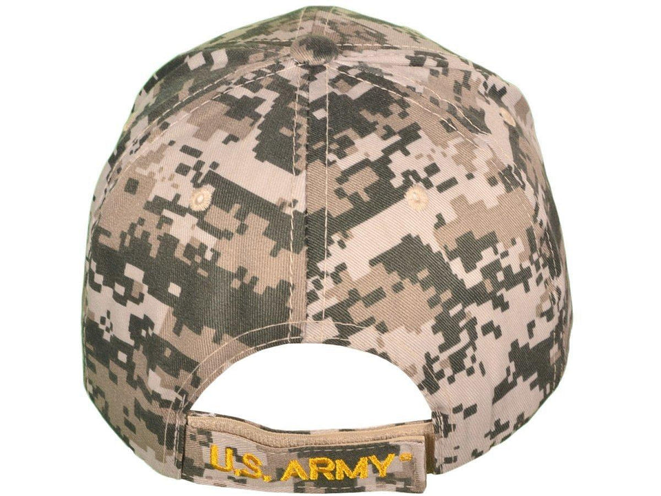 US Army Round Logo Embroidered Military Baseball Hat-Military Republic