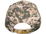 US Army Round Logo w/Shadow & Flag Embroidered Hats-Military Republic
