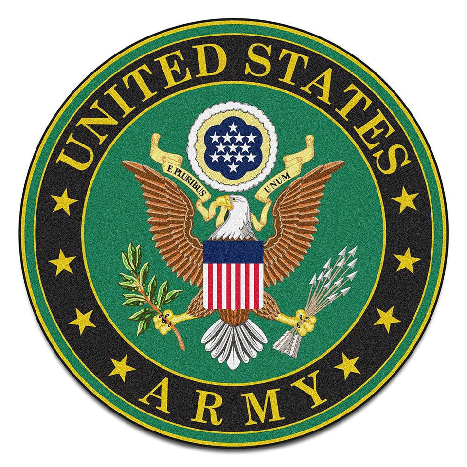 US Army Round Mat-Military Republic