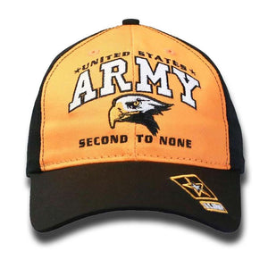 Second to None Army Slogan Cap-Military Republic