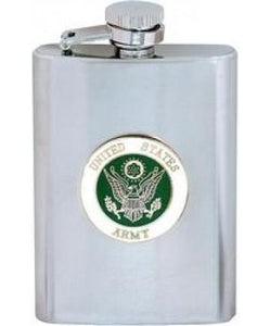 US ARMY Stainless Steel Flask (8oz)-Military Republic