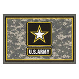 US Army Star 5 x 8 Rug-Military Republic