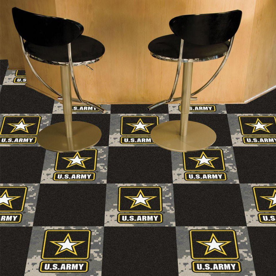 US Army Star Carpet Tiles-Military Republic
