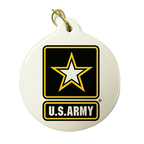 US Army Star Christmas Ornament-Military Republic