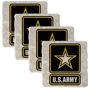 US Army Star Coaster-Military Republic