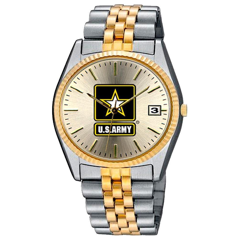 US Army two tone stainless steel Watch-Military Republic