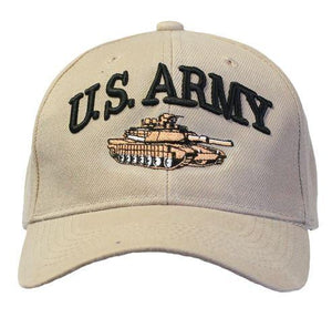 U.S ARMY with Tank  Cap