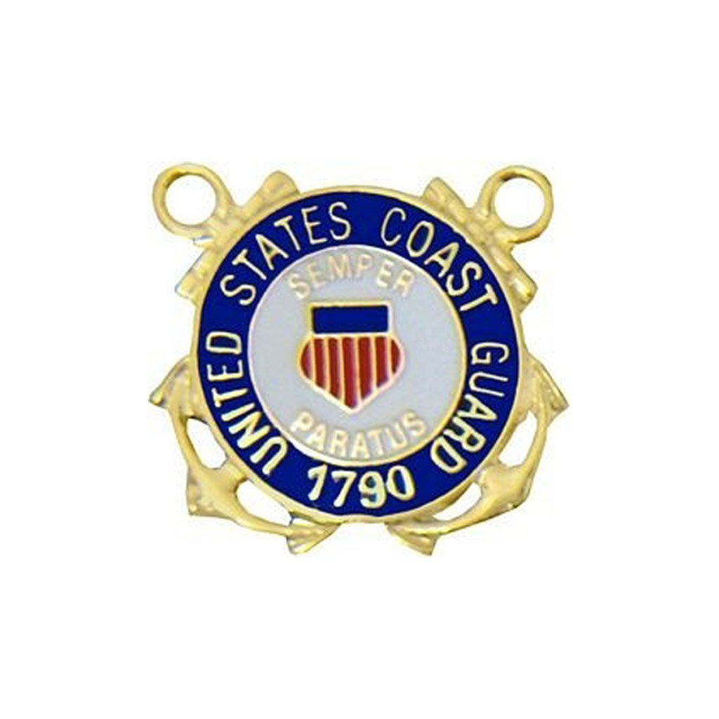 U.S. Coast Guard 1790 Insignia Pin (7/8