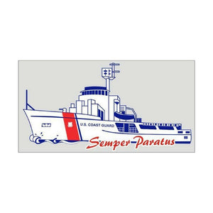 US Coast Guard Cutter Boat Decal-Military Republic