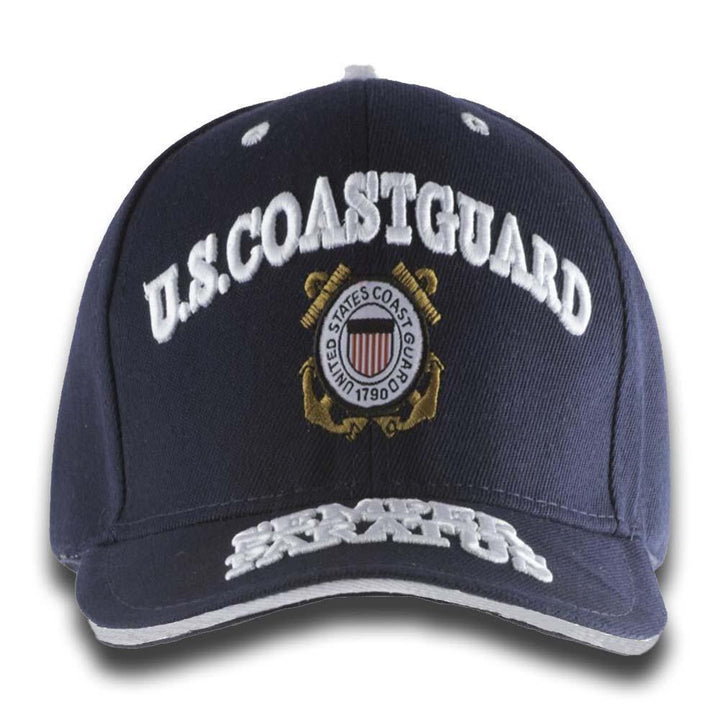 U.S Coast Guard Embroidery Cap (Navy)-Military Republic