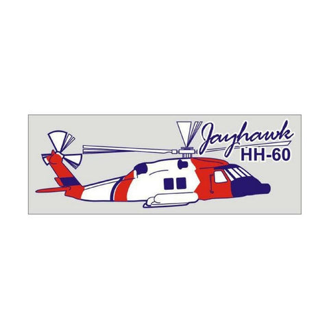 US Coast Guard Jayhawk Helicopter Decal-Military Republic