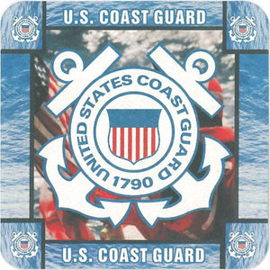 U.S. Coast Guard Pulpboard Coasters (8 Pk)
