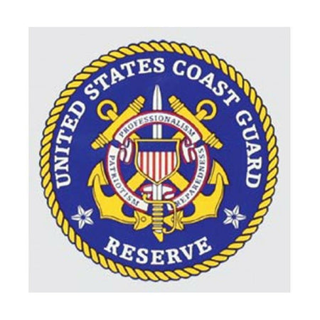 US Coast Guard Reserve Decal-Military Republic