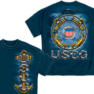 US Coast Guard T-Shirt-Military Republic