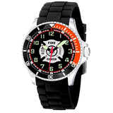 US Firefighter Rotating Bezel Wrist Watch-Military Republic