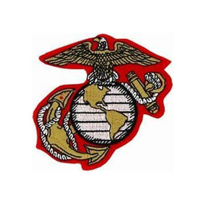 US Marine Corps Eagle Globe and Anchor Colored Patch-Military Republic