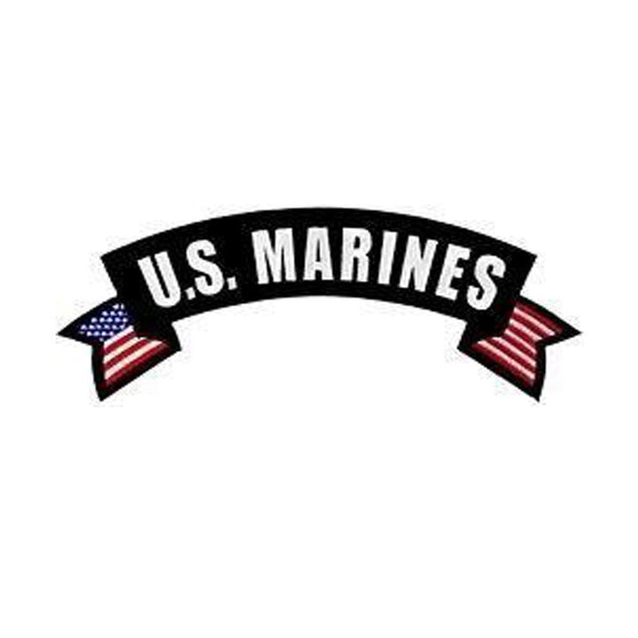 US Marine Corps Rocker Back Patch-Military Republic