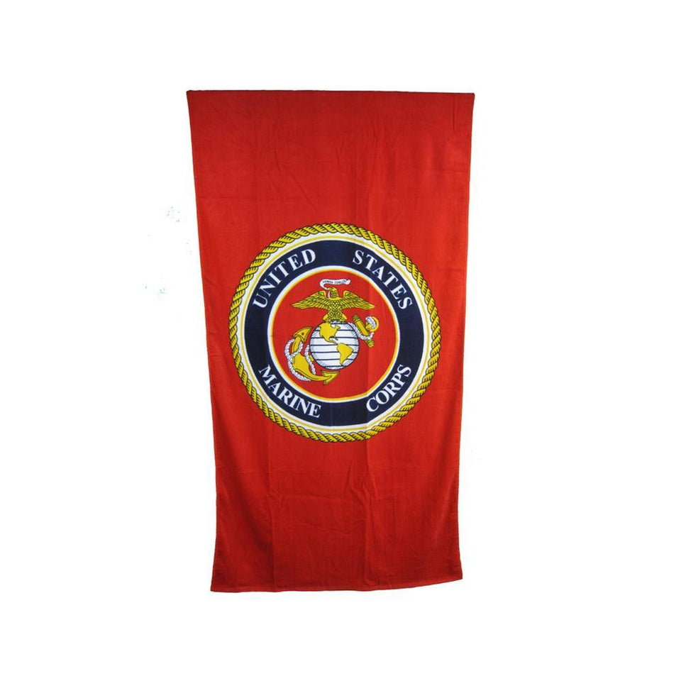Marine Beach Towel-Military Republic