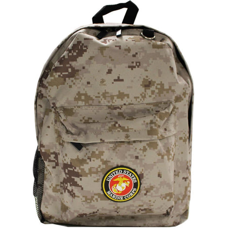 US Marines Camo Backpack-Military Republic