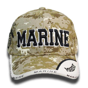 US Marines Digital Camo Cap-Military Republic