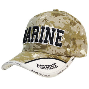US Marines Digital Camo Cap