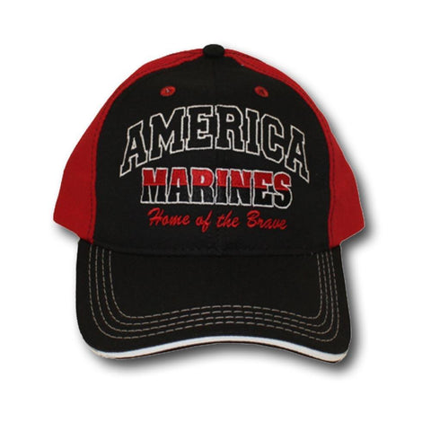 Marines Home of the Brave Hat-Military Republic