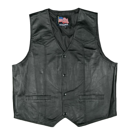U.S. Marines Leather Vest