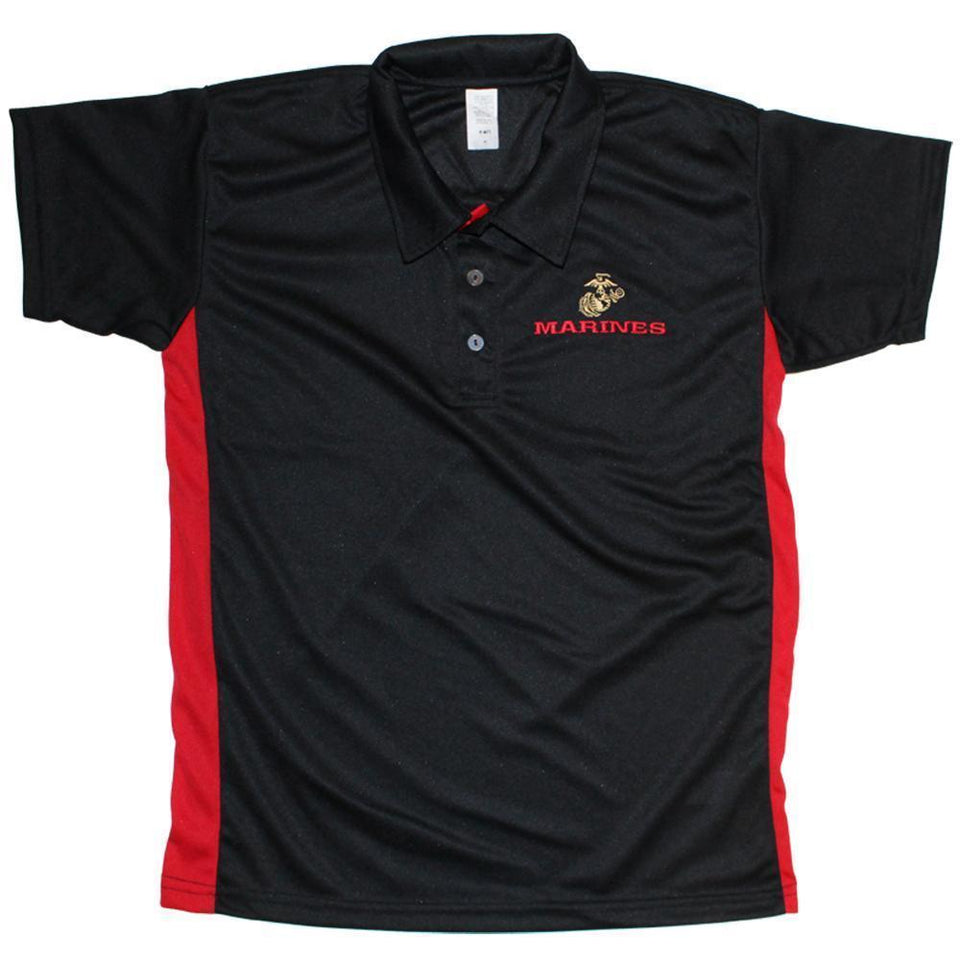 U.S. Marines Performance Polo Shirt-Military Republic