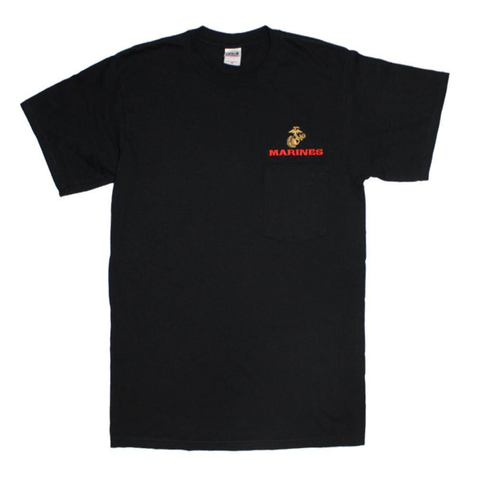 U.S. Marines Pocket T-Shirt-Military Republic
