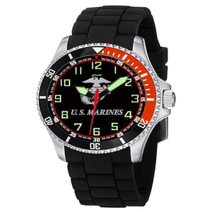 US Marines Rotating Bezel Watch-Military Republic