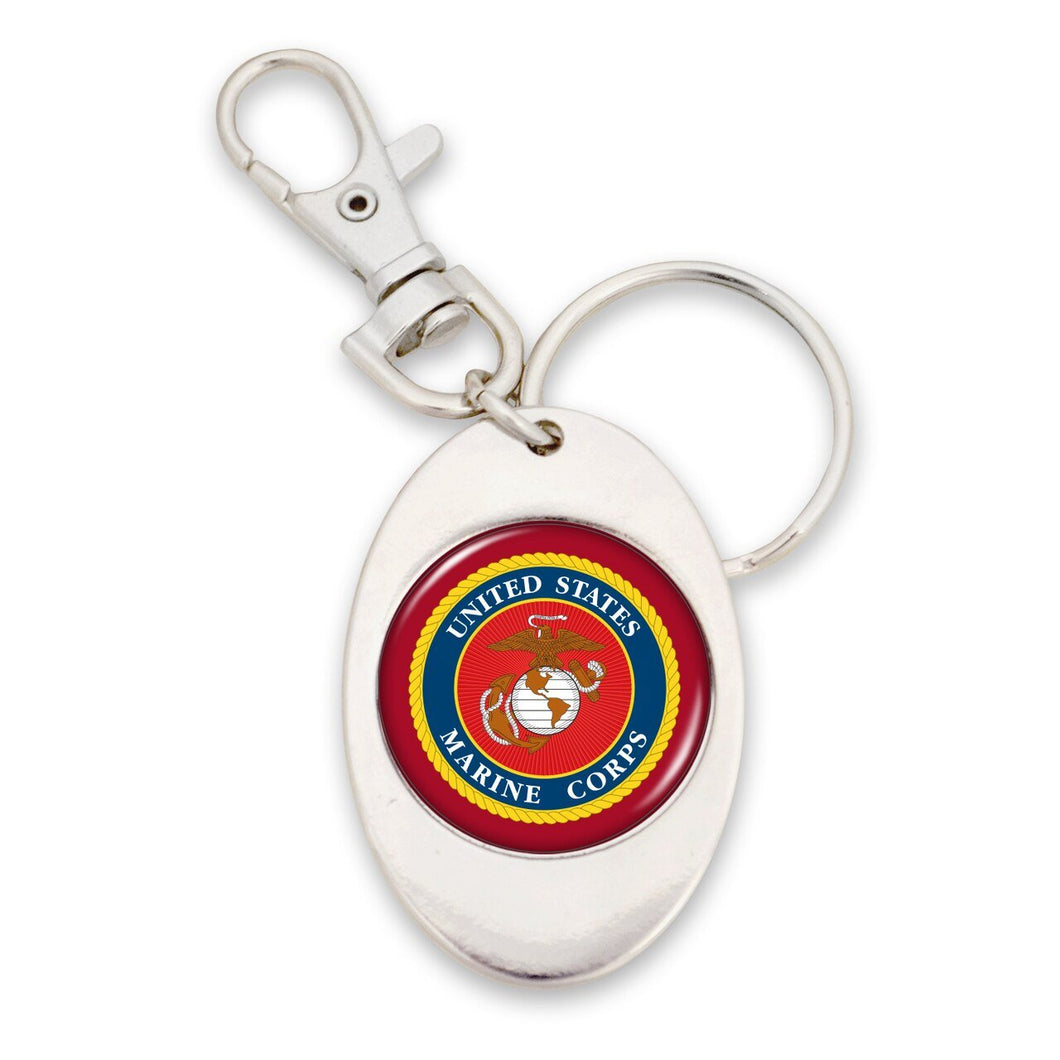 U.S. Marines Seal Key Chain