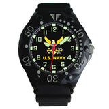 US Navy Aquaforce Plastic fiber case Watch-Military Republic