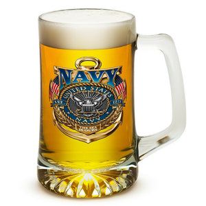 US Navy Badge Tankard-Military Republic