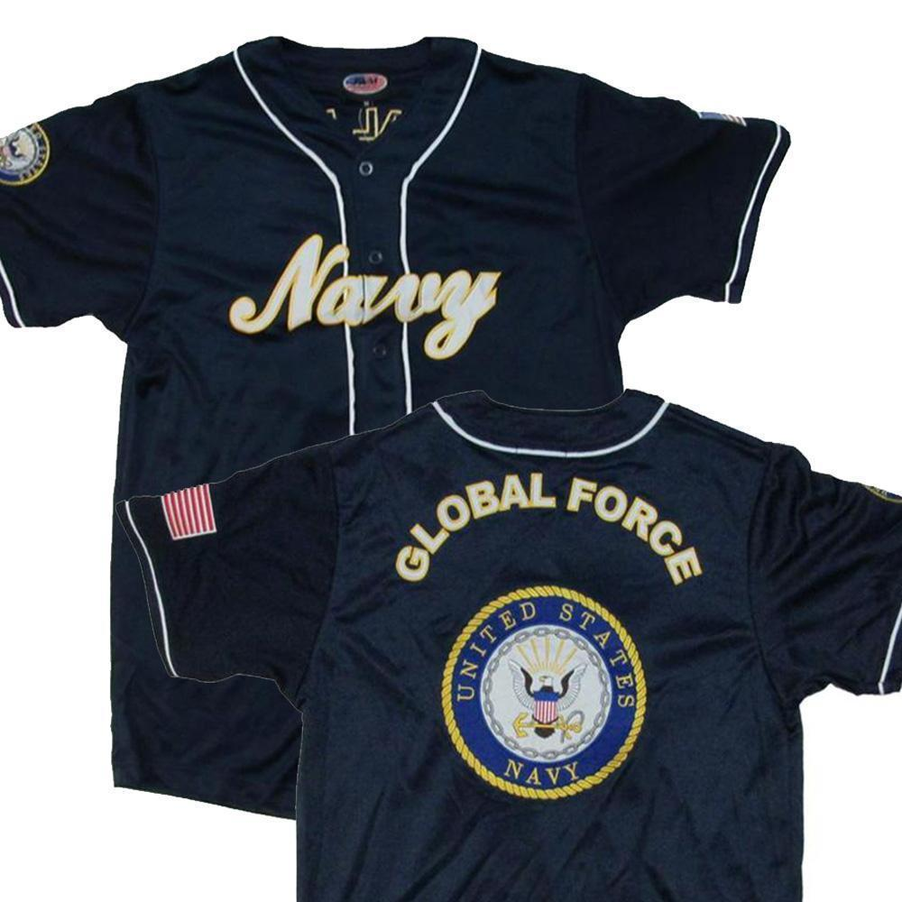 Us navy baseball jersey military republic product image 1 malvernweather Image collections
