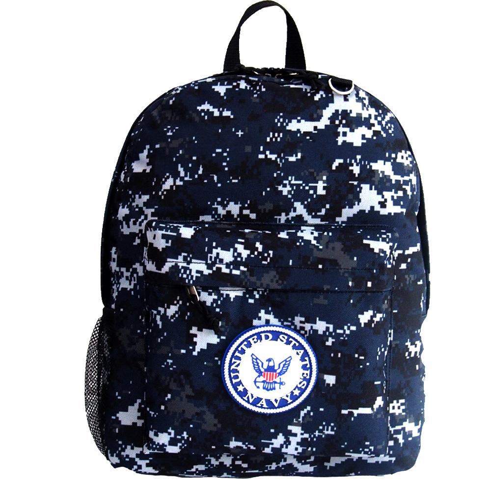 1ae72b66c96 US Navy Camo Backpack. US Navy Camo Backpack-Military Republic