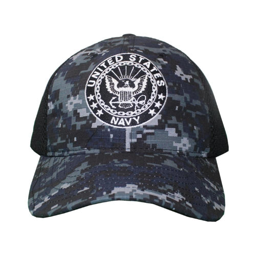 U.S NAVY Digital Mesh Cap-Military Republic