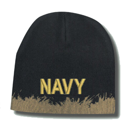 U.S. Navy Distressed Knit Skull Cap