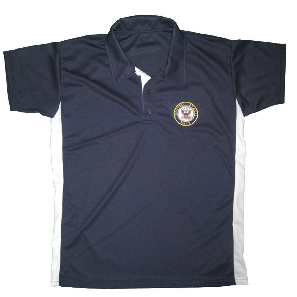 U.S. Navy Performance Polo Shirt-Military Republic