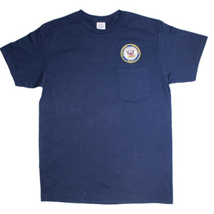 U.S. Navy Pocket T-Shirt-Military Republic