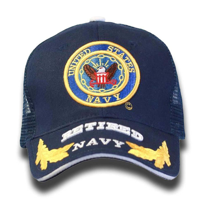 U.S. Navy Retired Mesh Cap-Military Republic