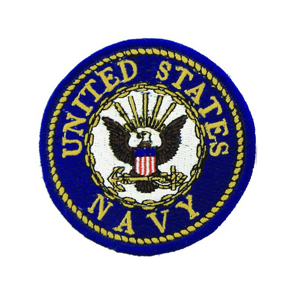 U.S. Navy (Round) Small Patch Small Patch 3