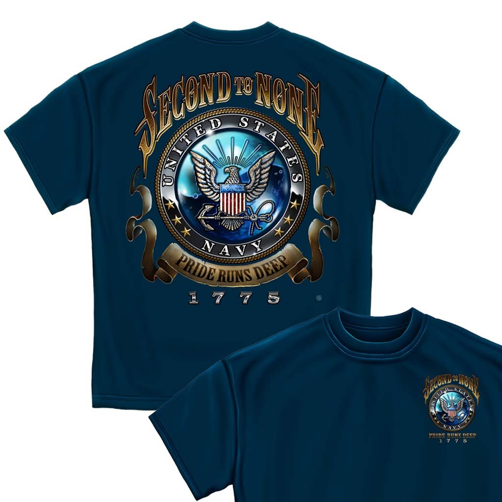 U.S. Navy Second to None T-shirt