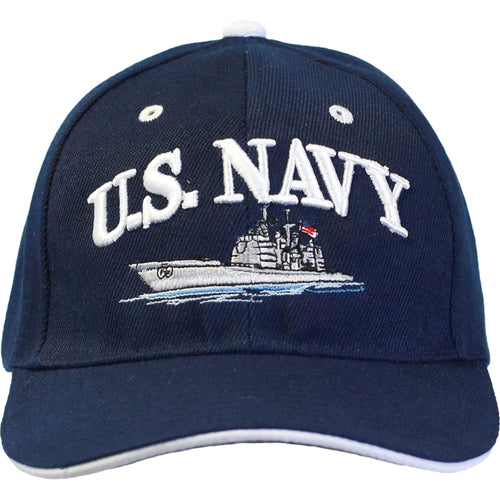 U.S. Navy Ship Cap