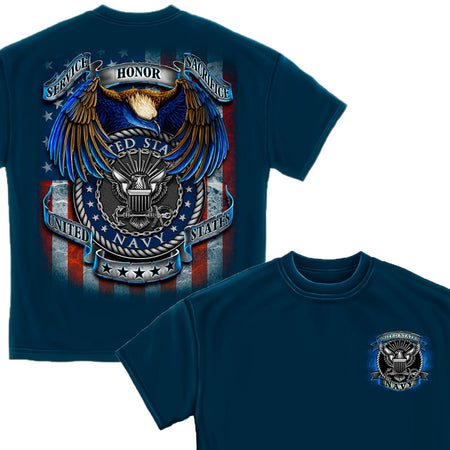 US Navy True Heroes T-Shirt-Military Republic