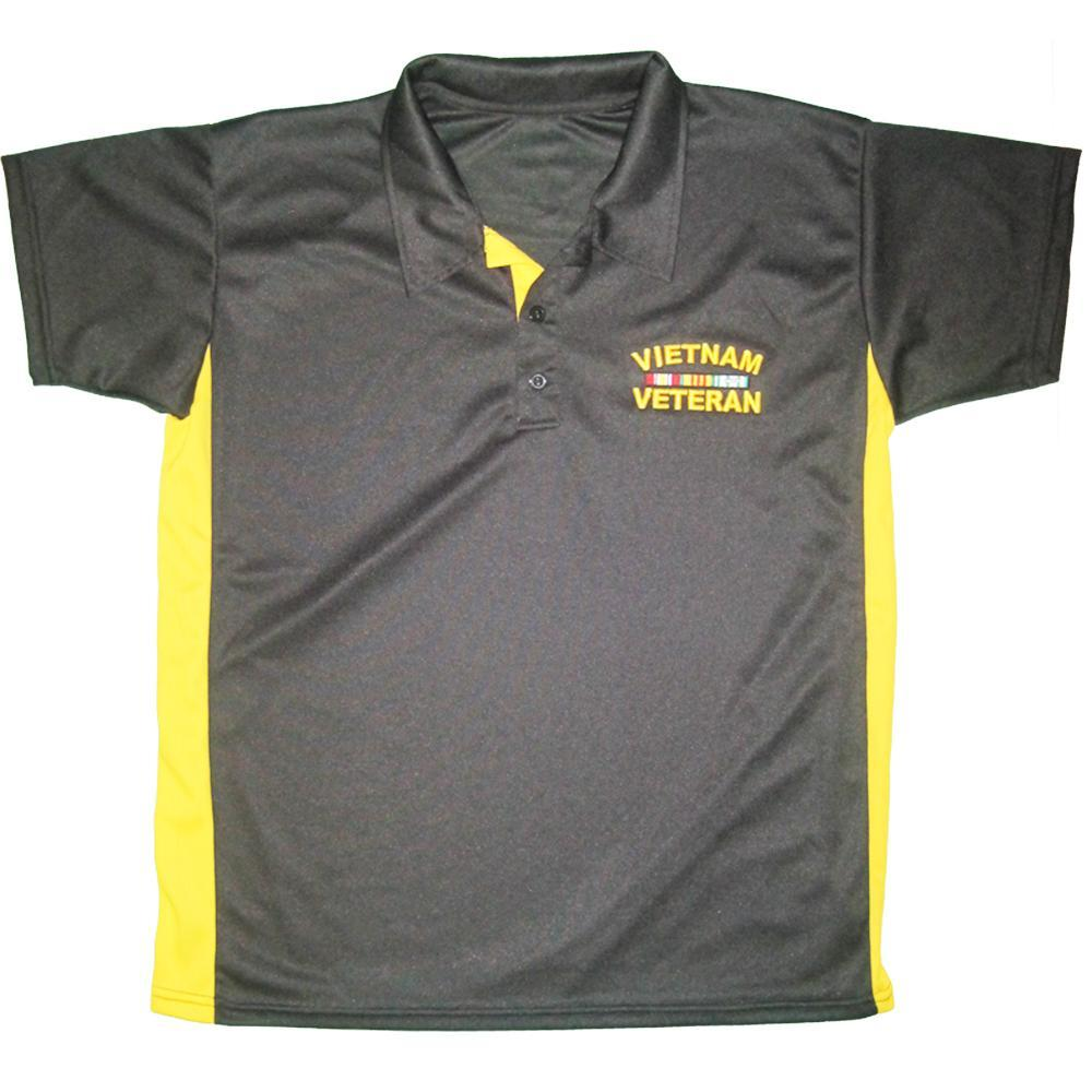 U.S. Vietnam Veteran Performance Polo Shirt-Military Republic