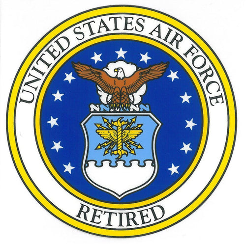 USAF Retired  Air Force Seal 3.5